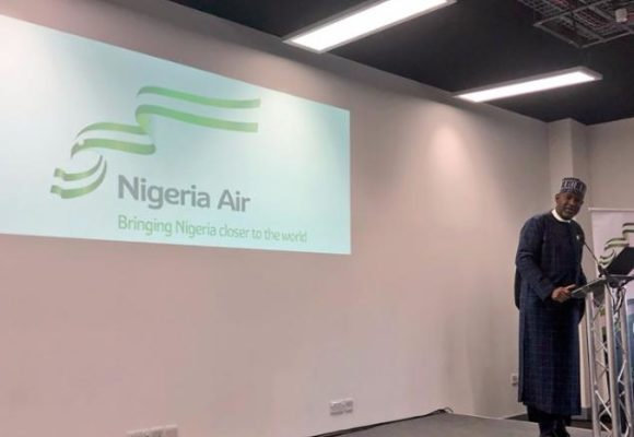 Nigeria unveiled a new national carrier